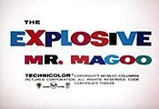 The Explosive Mr. Magoo Cartoon Picture