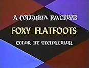 Foxy Flatfoots The Cartoon Pictures