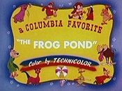 The Frog Pond Cartoon Picture