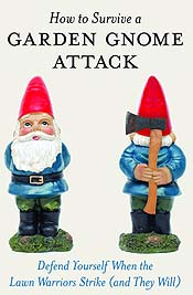 How To Survive A Garden Gnome Attack Cartoon Picture