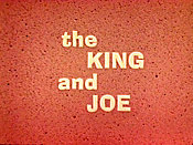 The King And Joe Cartoon Picture