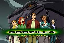 Godzilla: The Series Episode Guide Logo