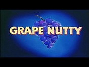 Grape Nutty Cartoon Picture