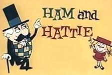 Ham and Hattie Theatrical Cartoon Series Logo
