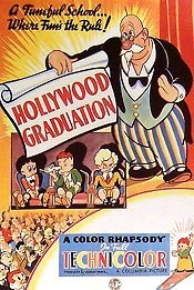 Hollywood Graduation Picture Into Cartoon