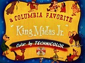 King Midas, Junior Cartoon Pictures