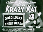 Krazy's Bear Tale Free Cartoon Picture