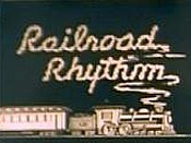 Railroad Rhythm Cartoon Picture