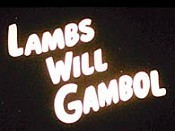 Lambs Will Gamble Pictures In Cartoon