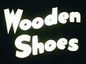 Wooden Shoes Cartoon Picture