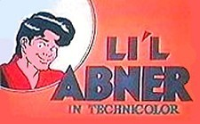 Lil' Abner Theatrical Cartoon Series Logo
