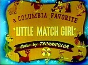 The Little Match Girl Cartoon Picture