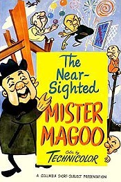 Stage Door Magoo Cartoon Picture