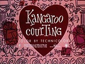 Kangaroo Courting Cartoon Picture