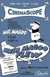 When Magoo Flew Picture Into Cartoon