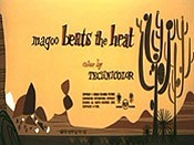 Magoo Beats The Heat Cartoon Pictures