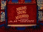 Magoo's Young Manhood Cartoon Pictures