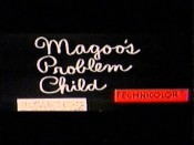 Magoo's Problem Child Picture Of The Cartoon