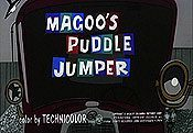 Magoo's Puddle Jumper Picture To Cartoon