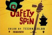 Safety Spin Cartoon Character Picture