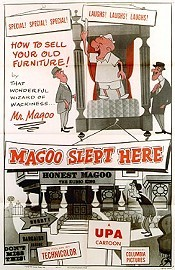 Magoo Slept Here Free Cartoon Picture