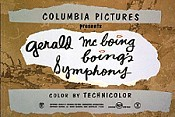 Gerald McBoing Boing's Symphony Pictures Of Cartoons