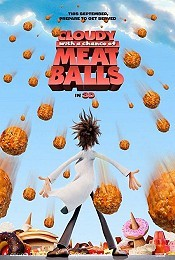Cloudy With A Chance Of Meatballs Picture Into Cartoon