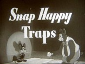 Snap Happy Traps Cartoon Picture