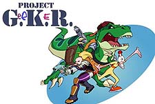 Project G.e.e.K.e.R. Episode Guide Logo