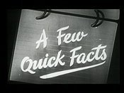 A Few Quick Facts: Fear