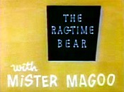 Ragtime Bear Cartoon Character Picture