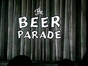 The Beer Parade Cartoon Character Picture