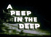 A Peep In The Deep Cartoon Pictures