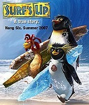 Surf's Up Picture To Cartoon