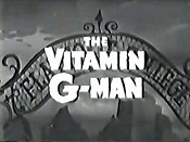 The Vitamin G Man Cartoon Picture
