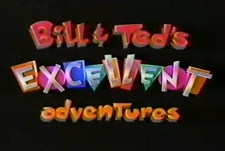 Bill and Ted's Excellent Adventures Episode Guide Logo