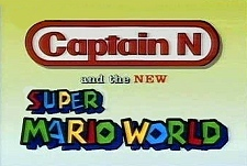 Captain N and the New Super Mario World Episode Guide Logo