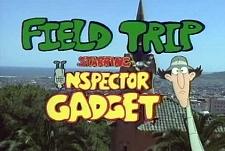 Inspector Gadget's Field Trip  Logo