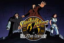 Sherlock Holmes in the 22nd Century Episode Guide Logo