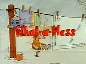 What-A-Mess And The Hairy Monster Cartoon Picture