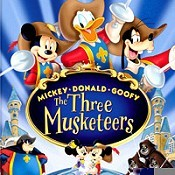 Mickey, Donald, Goofy: The Three Musketeers Picture Into Cartoon