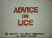 Advice On Lice Cartoon Picture