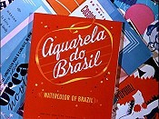 Aquarela do Brasil Cartoon Picture