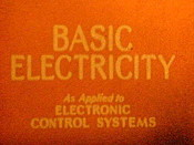 Basic Electricity Free Cartoon Picture