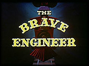 The Brave Engineer Cartoon Character Picture