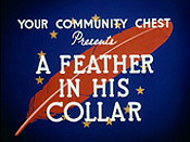 A Feather In His Collar Cartoon Picture
