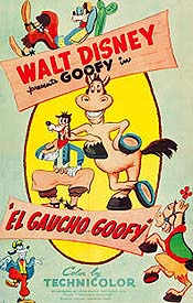 El Gaucho Goofy Cartoon Picture