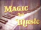 Magic And Music Picture Into Cartoon