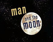 Man And The Moon Cartoon Picture