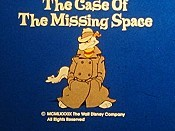 The Case of the Missing Space Cartoon Character Picture